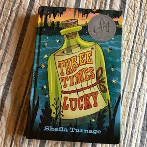 Three Times Lucky hard Back Book by Sheila Turnage